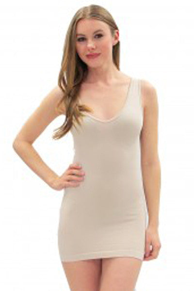 V-Neck/Scoop Neck Basic Tank - Elietian