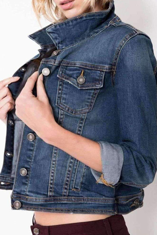 Kan Can Jean Jacket (xs, med left)