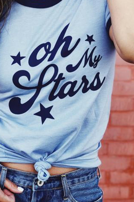 Oh My Stars Unisex Tee  (xl left)