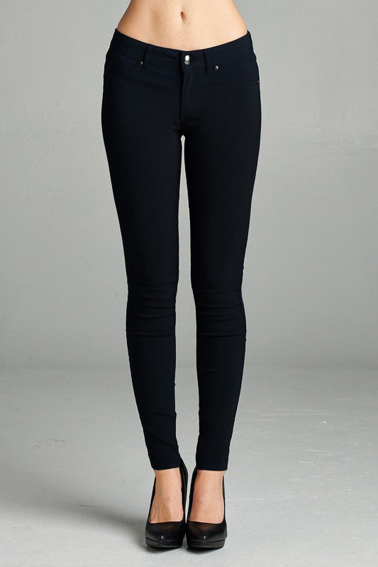 Basic Skinny Pant - 4 Colors