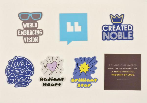 Baha'i Blog Stickers