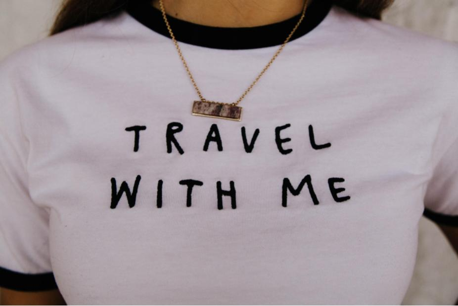 'Travel with Me' Tee