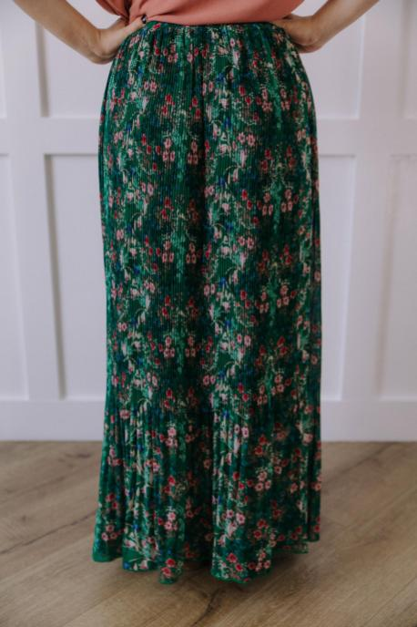 Green Lily Skirt
