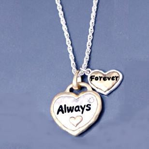 """Always Forever"" Inspirational Necklace"