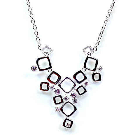 """Holly"" Silver Necklace"