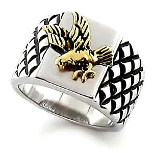 Brave Heart Men's Eagle Ring