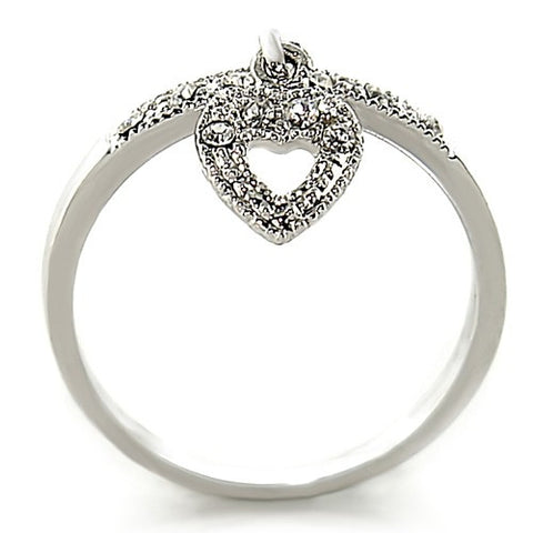 """Hearty Austrian Crystal Ring"