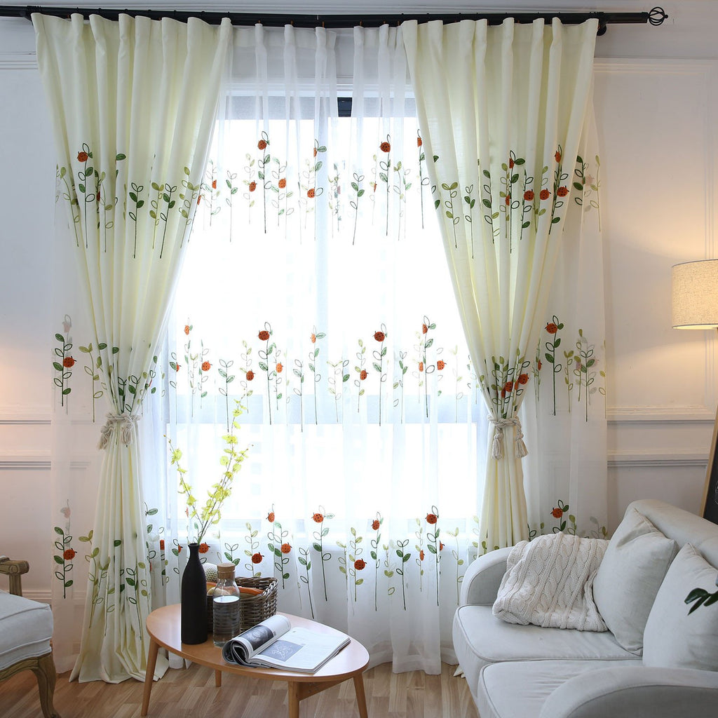 Sheer Curtains in Sydney for Sunroom