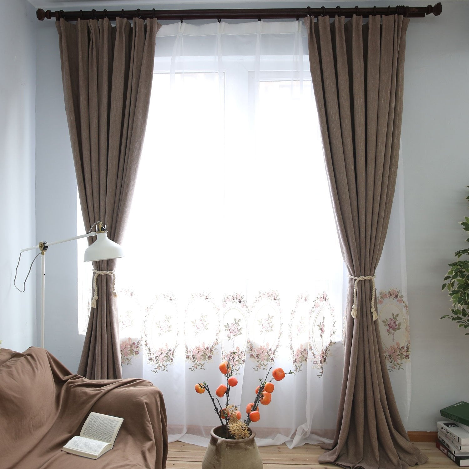 Brown Blackout / Blockout Curtains In Sydney