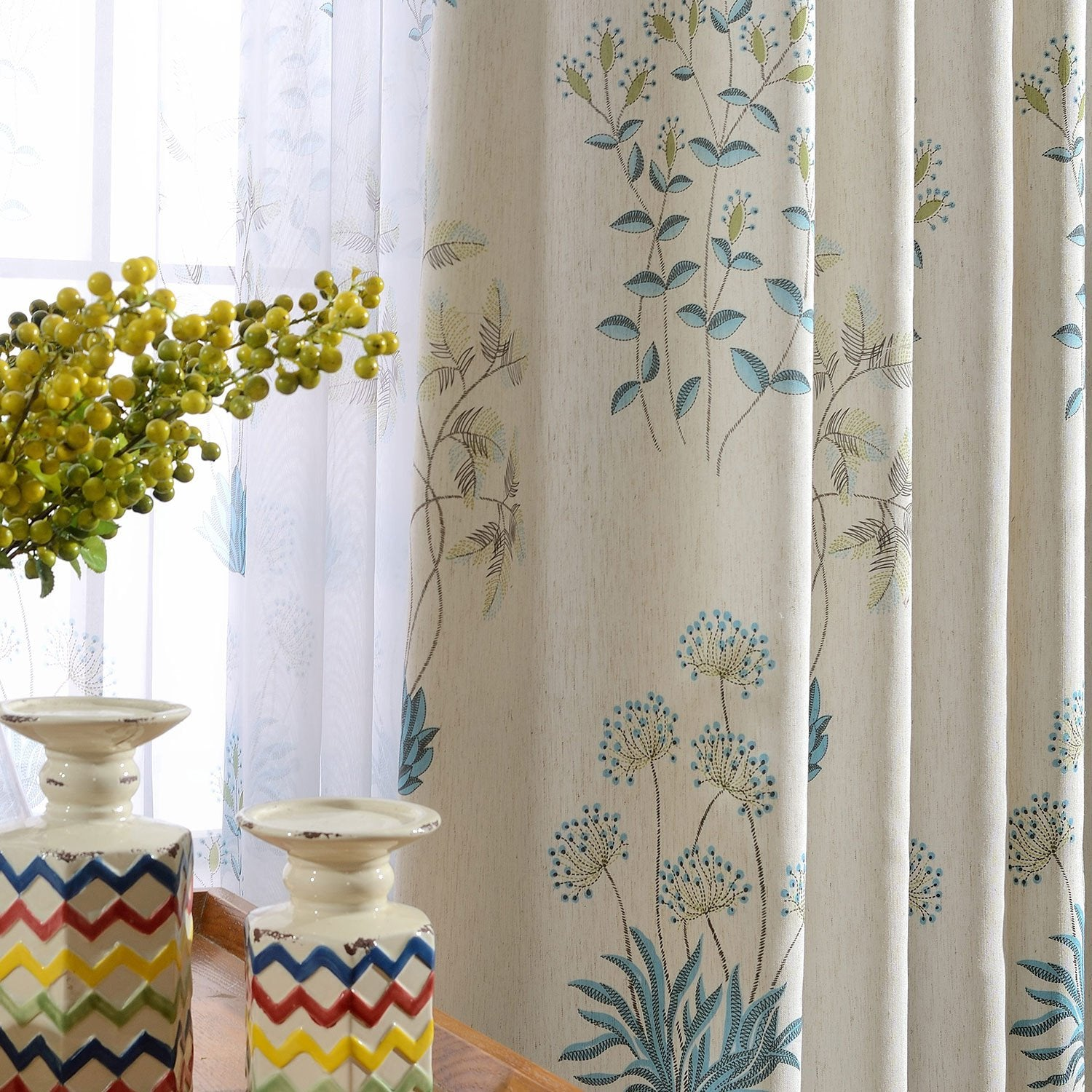 Pippy-Floral-Beautiful-Custom-Made-Blackout-Curtains-Sydney