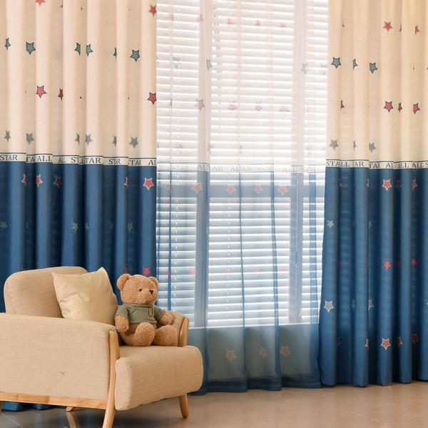 e6b3febe4199 Custom Made Blackout Curtains in Sydney Star Pattern Free Delivery ...