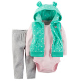 Bibi and sam's Boys and girls set jacket + romper + pants - BIBI & SAM
