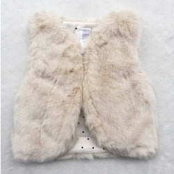 Baby Girls Fashion Faux Vest - BIBI & SAM