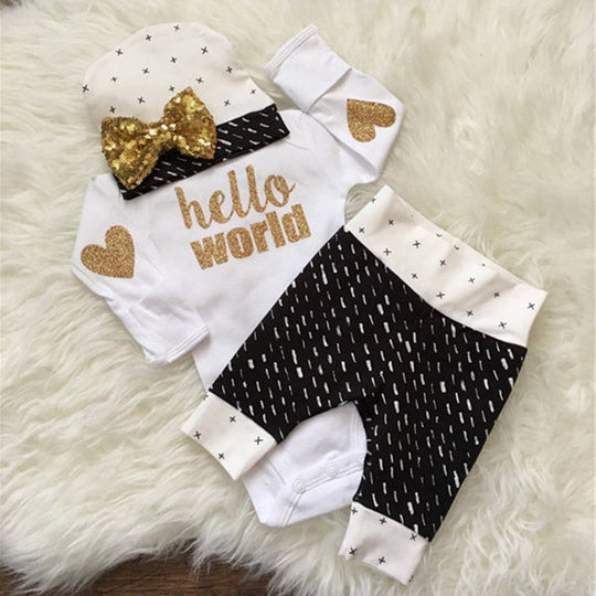 Babies Romper, Leggings.