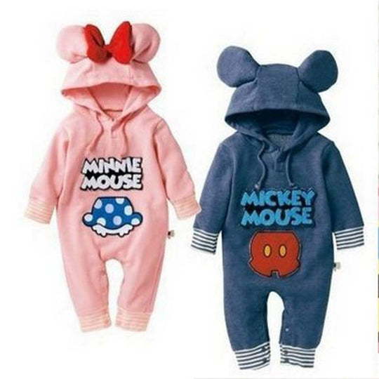 100% cotton long sleeve baby hoodie jumpsuits - BIBI & SAM