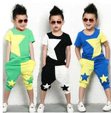 2 pcs set clothes kids Short + pants - BIBI & SAM