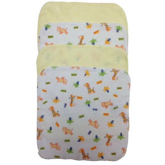 Bibi Wash Cloth Variety 4-Pack - BIBI & SAM