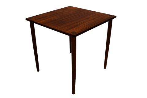 Danish mid century rosewood side table by Georg Petersen Møbelfabrik A/S