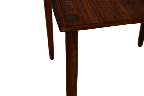A Danish mid century rosewood side table by Georg Petersen Møbelfabrik A/S