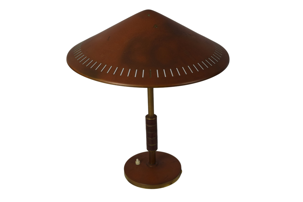Danish mid century table lamp by bent karlby 1956 patinated danish mid century table lamp by bent karlby 1956 patinated brass lyfa aloadofball Images