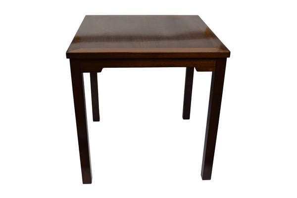 Midcentury mahogany side table produced for Lysberg Hansen & Therp