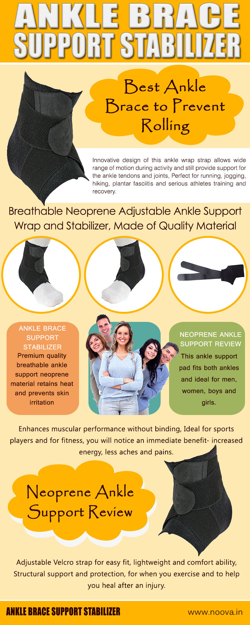 noova ankle support