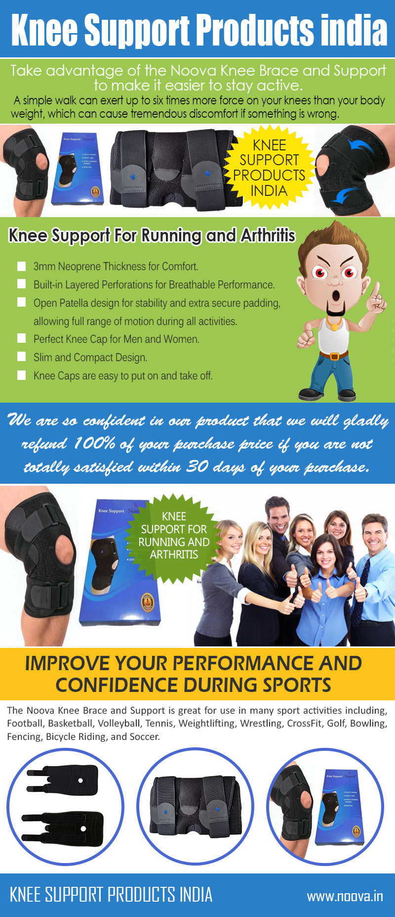 noova knee support