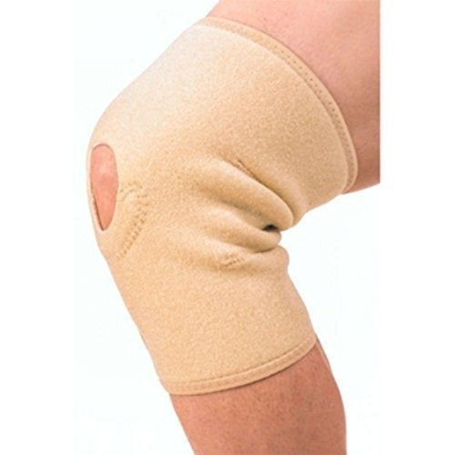 Noova Knee Support Brace for Sports and Gym , Free Size (1 Piece, Beige)