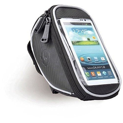 MobilX Cycling Bike Handle Bar Pouch for Smartphones