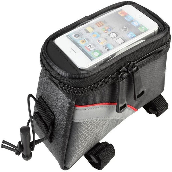 MobilX Cycling Bike Frame Bag for Smartphones (Large)