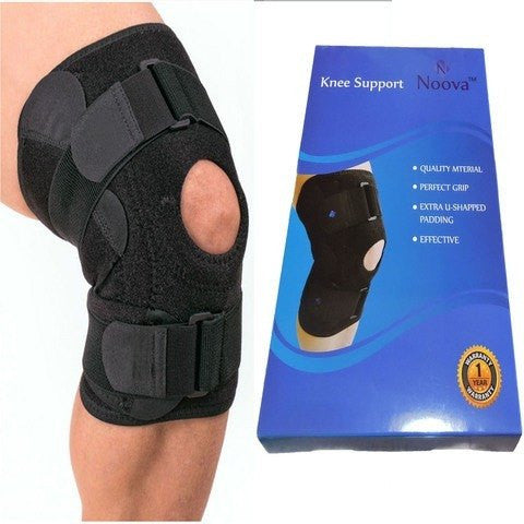 Noova Knee Support Wrap Pad, Black (1 Piece)