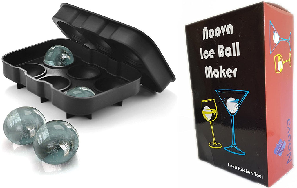 Noova Ice Ball Maker Tray With 6 X 4.5 cm Ball Capacity
