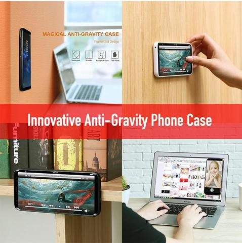 MobilX® Anti-gravity Phone Case For Samsung and iPhone Phones