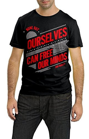 Trend Crown Cotton Black T-shirt For Men