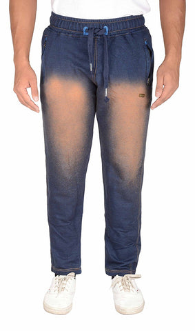 Trend Crown Men's Straight Track Pant (Blue)