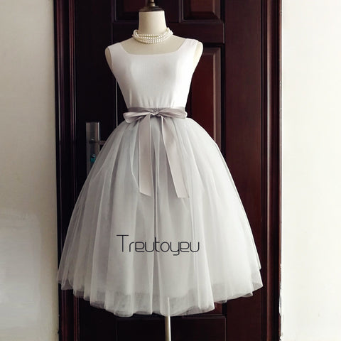 7 Layers Maxi Tutu Tulle Skirt