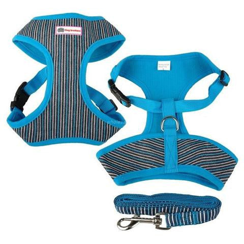 ADJUSTABLE SOFT HARNESS VEST - DESIGNED FOR FRENCH BULLDOGS