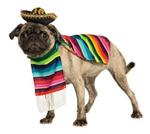 French Bulldog Clothes Mexican Poncho