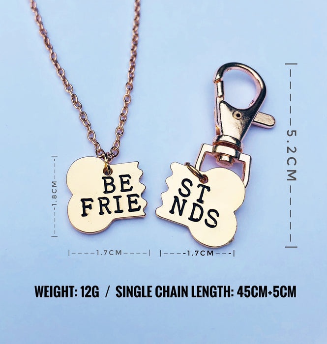 Best Friend Necklace and Dog Tag