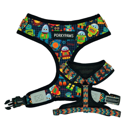 Adjustable Dog Harness in 'Little Robots'