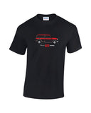 Austin & Morris Mini Countryman t shirt