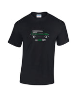 Cooper Car Company classic mini van T shirt