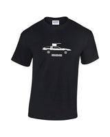 Classic Delorean t shirt - Back to the Future