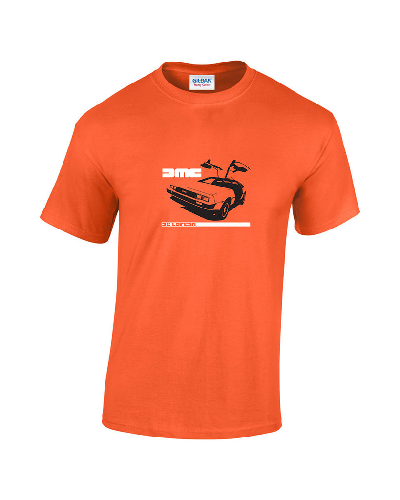 The DeLorean DMC 12 Retro Car T-Shirt a must have for all film and classic car lovers and available in 5 colours.