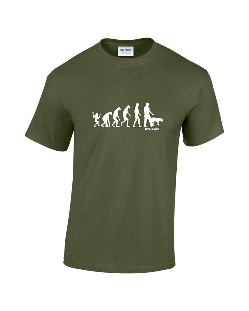 Evolution Of Man - Dog Walker