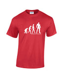 Evolution T Shirt - Superhero