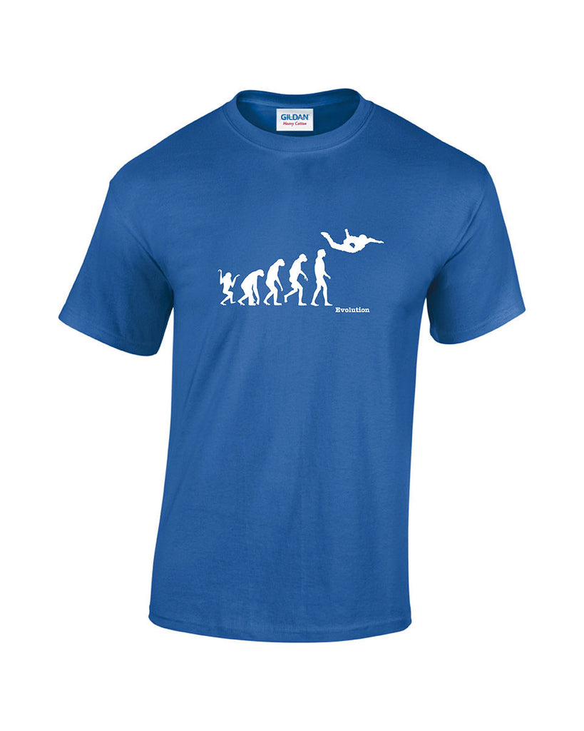 Evolution Of Man - Skydiving