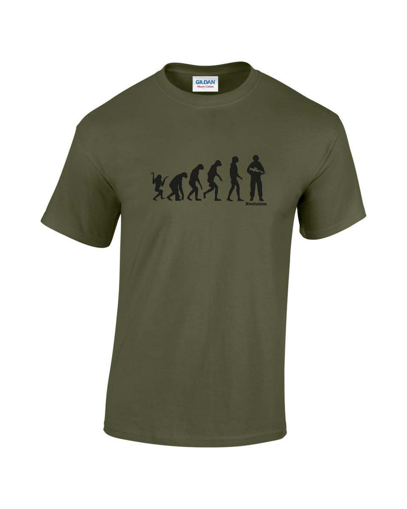 Evolution Of Man - Soldier
