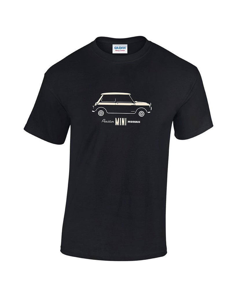 Italian Job Cooper S T Shirt in old english white. Classic mini t shirts only from Rinsed T Shirts. high quality, low prices.