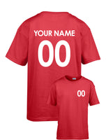 Personalised Football T-shirt